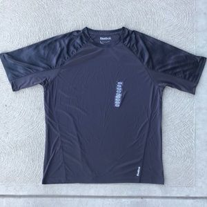 Reebok Men's Athletic Shirt Gray NWT Large